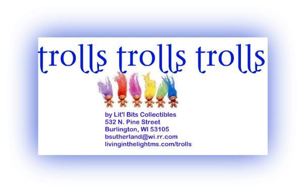 1990s Troll Dolls Trolls for sale