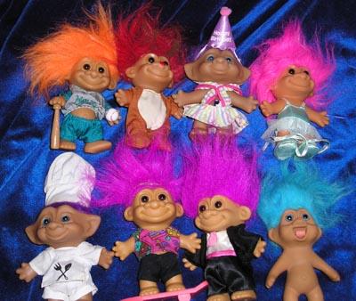 Trolls, Troll Dolls, Litl Bits ...